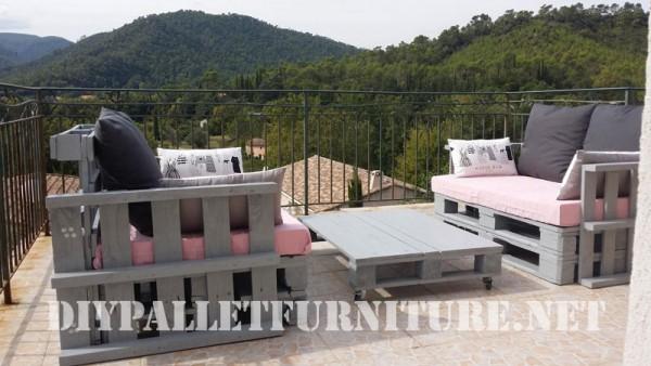 I divani pallets di Marie per la terrazza 5