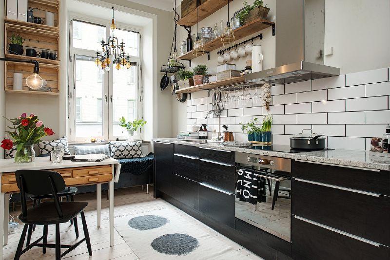 Mensole con paletti per la cucina 2Mobili con Pallet | Mobili con ...