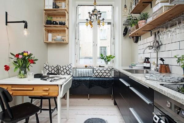 Mensole con paletti per la cucinaMobili con Pallet | Mobili con Pallet