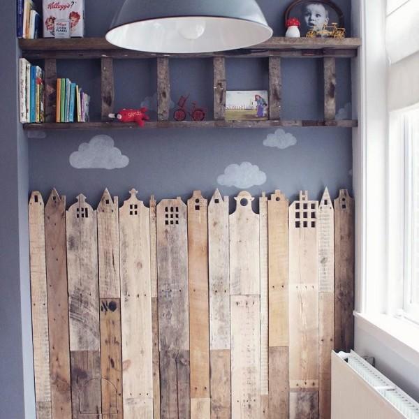 Ornamenti di legno di copertura per le camere dei bambini 1