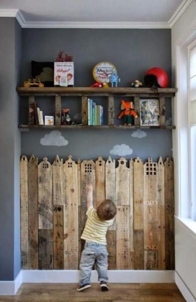 Ornamenti di legno di copertura per le camere dei bambini 2