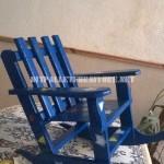 Panca di giochi per i bambini con palettemobili con pallet - Costruire sedia a dondolo ...