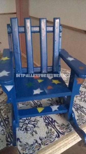 Sedia a dondolo per i bambini con palette 5