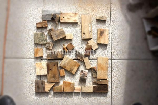 Design de tavolo con il legno riciclato 2