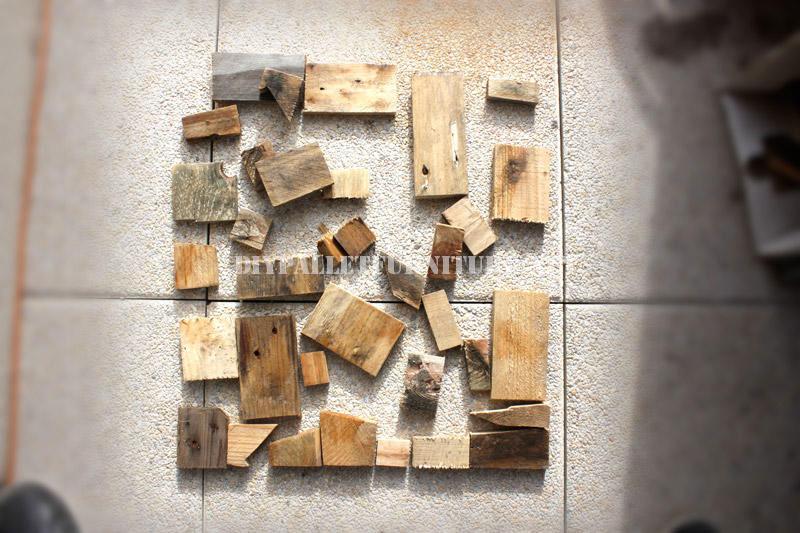 Design de tavolo con il legno riciclato 2mobili con pallet - Mobili con legno riciclato ...