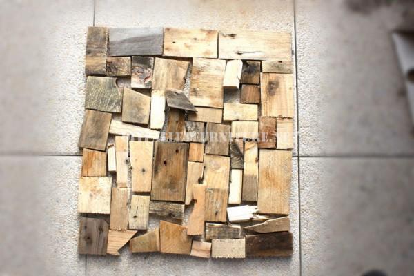 Design de tavolo con il legno riciclato 3