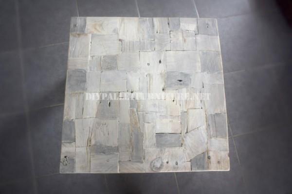 Design de tavolo con il legno riciclato 4