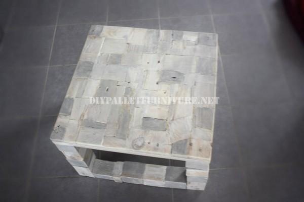 Design de tavolo con il legno riciclato 5