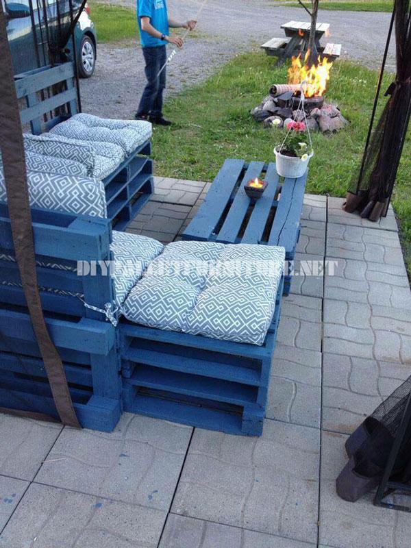 Mobili da giardino con i pallet 4mobili con pallet - Giardino pallet ...