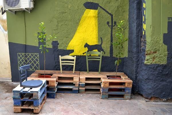 Rivitalizzazione urbana con i pallet 2