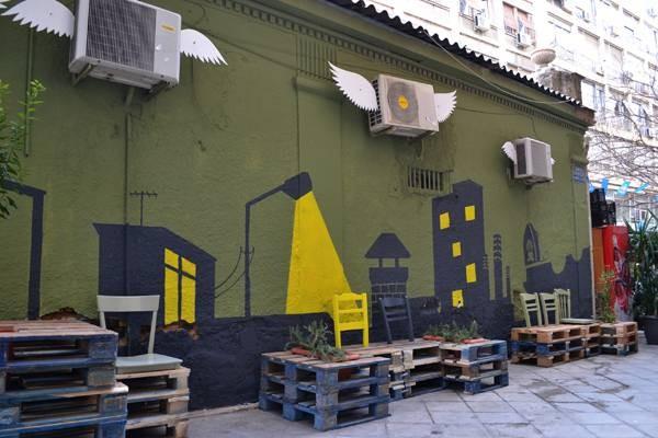 Rivitalizzazione urbana con i pallet 4
