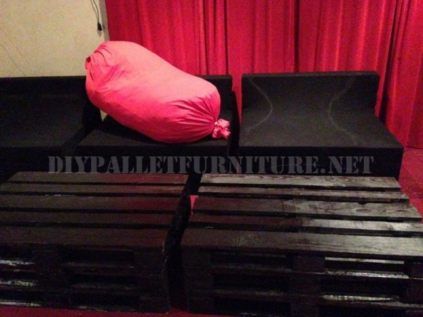 Mobili Pallet per un soggiorno 3