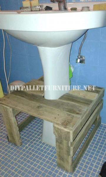 Mobili per lavandino del bagnomobili con pallet mobili - Mobili per lavandino bagno ...