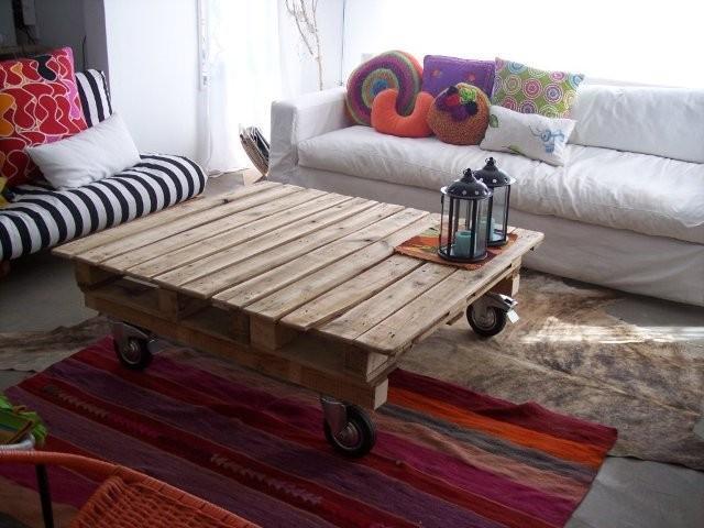 Rustico tavolo per il soggiorno 2