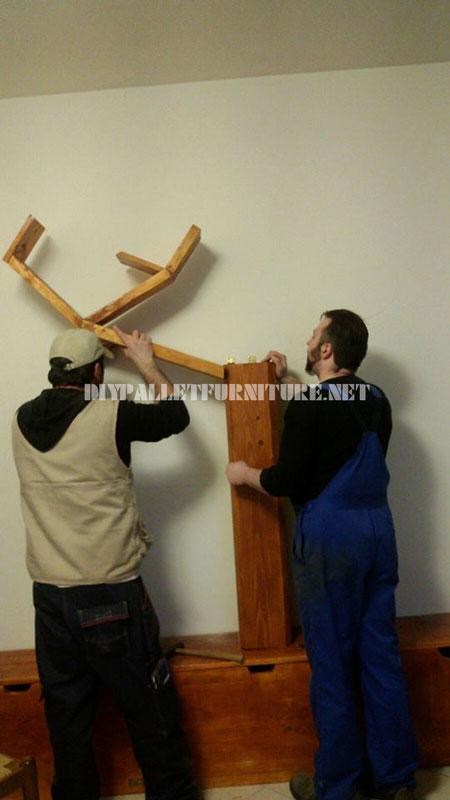 Scaffalature e mobili per il soggiorno con forma di albero 4