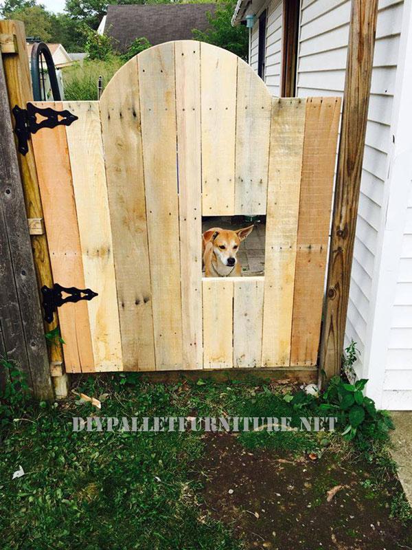 Sectorize vostro giardino tramite una porta pallet