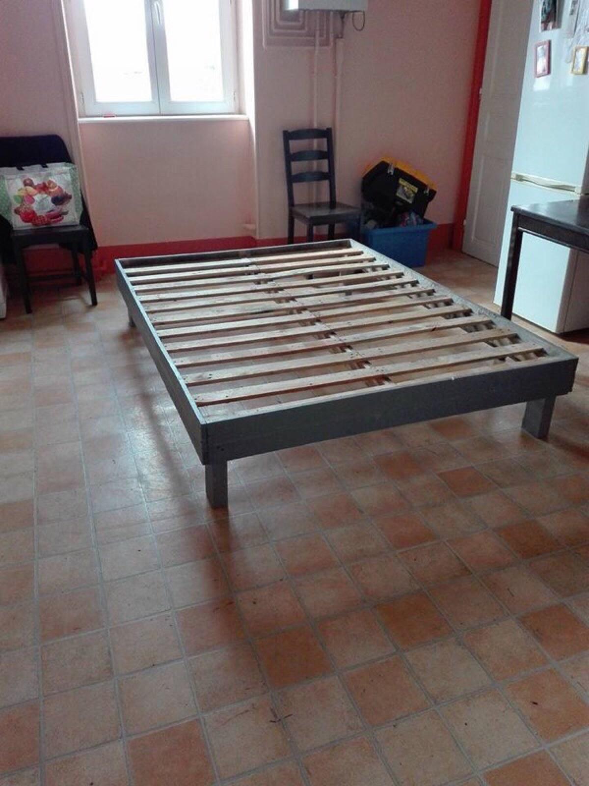 Telaio del letto realizzato con palletMobili con Pallet  Mobili con ...