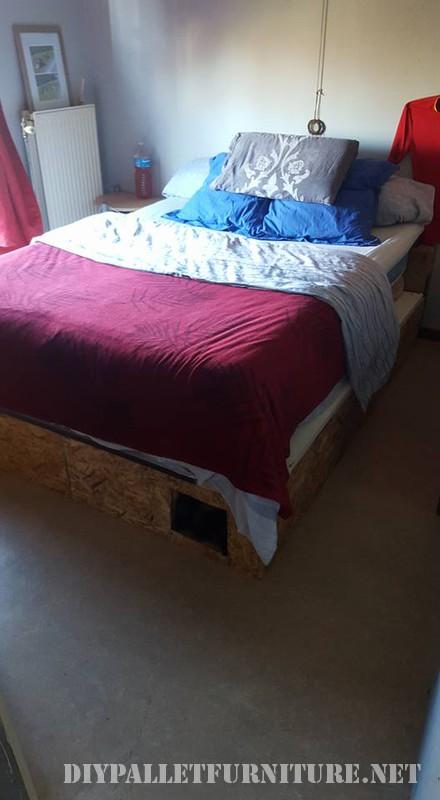 Struttura del letto Pallet 3