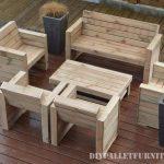 Sedia a sdraio con i palletmobili con pallet mobili con for Mobili terrazza