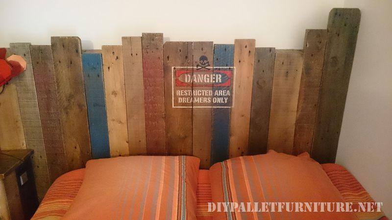 Letto pallet Vintage 3