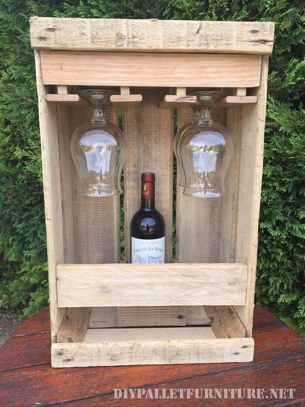Amante del vino set con una scatola di frutta 2