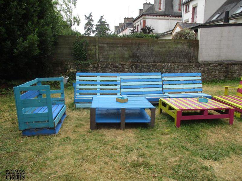 Mobili da giardino On n'est pas que des cageots 4
