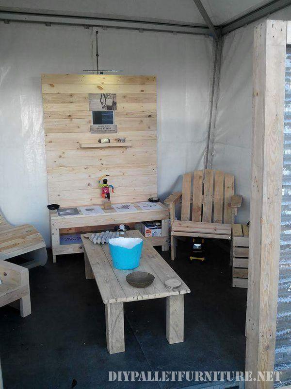 Diversi mobili di pallet per il salotto e con with mobili fatti con bancali - Mobili fatti con i pallet ...