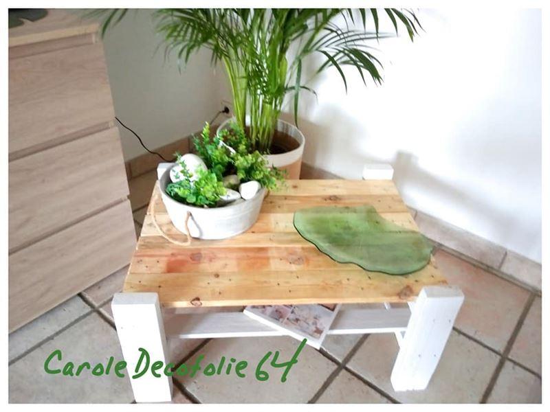 Tavolo per il soggiorno a doppia altezzamobili con pallet - Mobili per lavatrici e asciugatrici ...